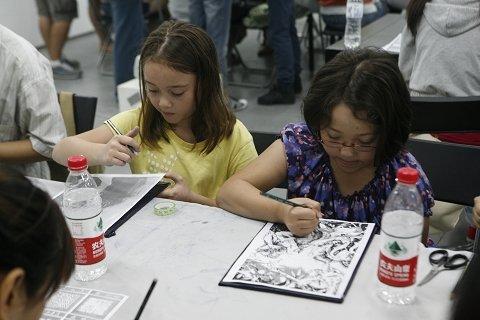 a4抗战70周年儿童画